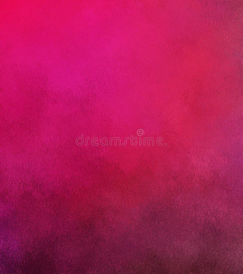 数字式绘画摘要五颜六色的背景用桃红色颜色不同的树荫  库存例证