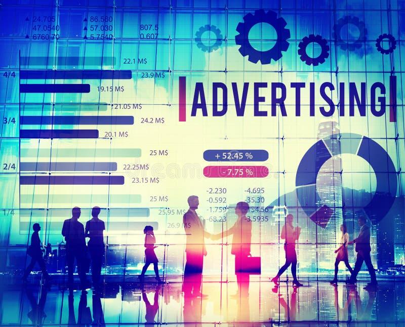 数字式营销烙记的战略网上媒介概念 向量例证