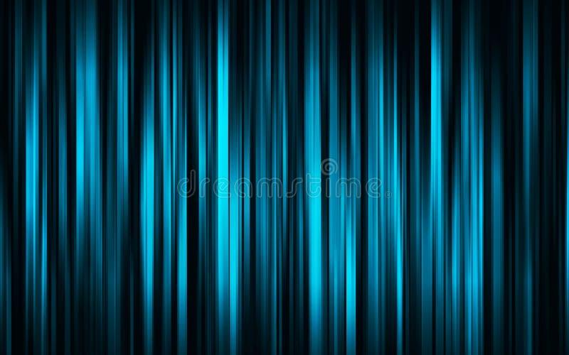 数字式蓝色窗帘 免版税图库摄影