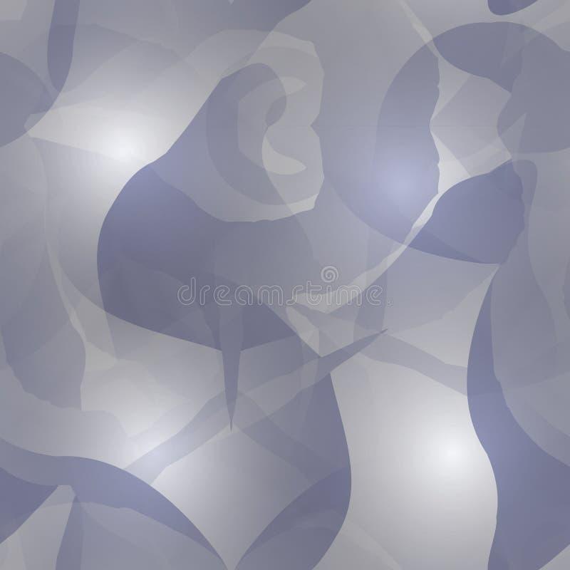 数字式被创造的无缝的五颜六色的纹理 皇族释放例证