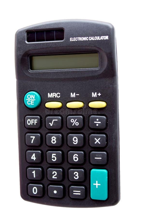 数字式计算器 免版税库存图片