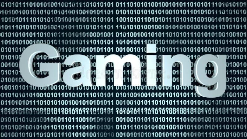 数字式赌博 向量例证