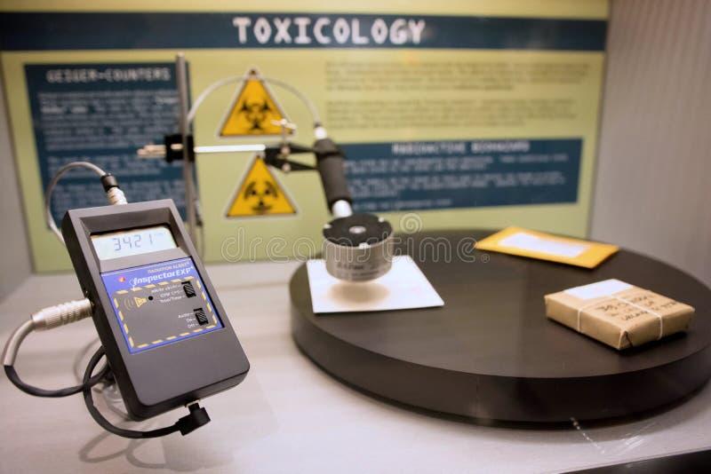 数字式辐射探测器 免版税库存照片