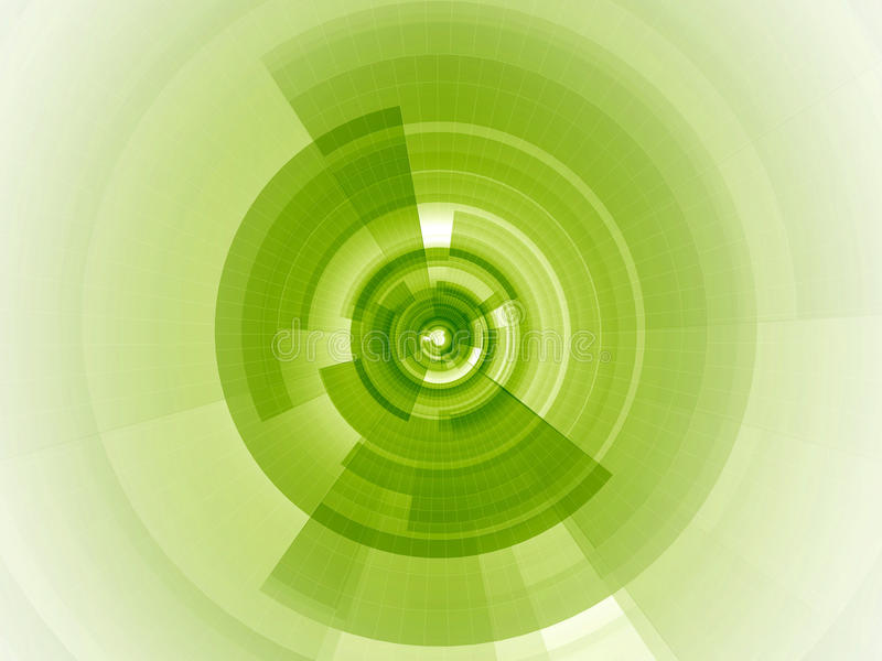 数字式重点绿色石灰 皇族释放例证