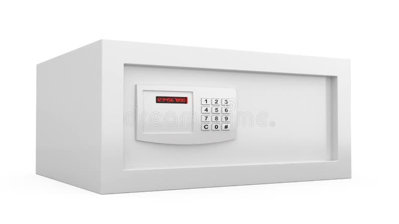 数字式锁定安全 向量例证
