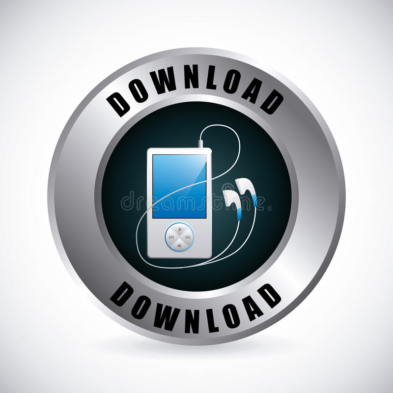 Download 数字式音乐 向量例证. 插画 包括有 按钮, 例证, 数字式, 移动, 商业, 概念性, 音乐, 媒体, 现代 - 59101512