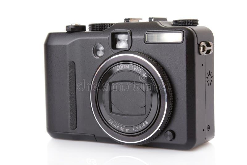 数字式黑色照相机协定 库存照片