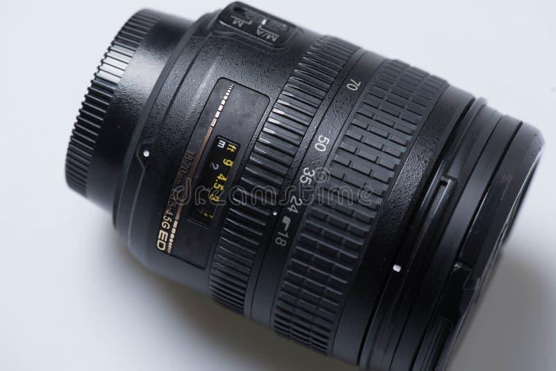 数字式SLR摄象机镜头 免版税库存图片
