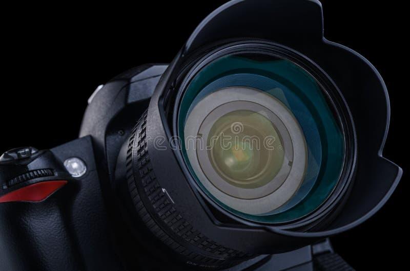 数字式SLR照相机 免版税库存照片
