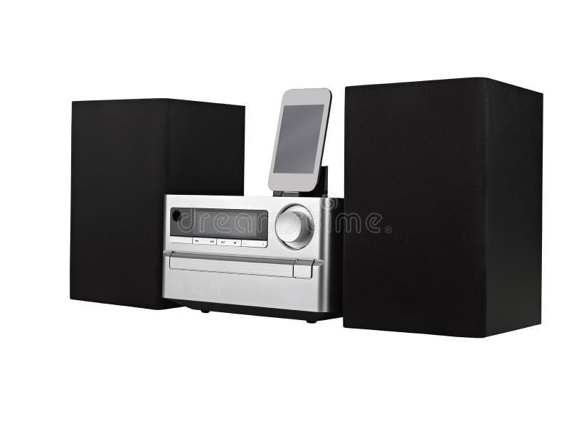 数字式usb、CD播放器和mp3 库存图片