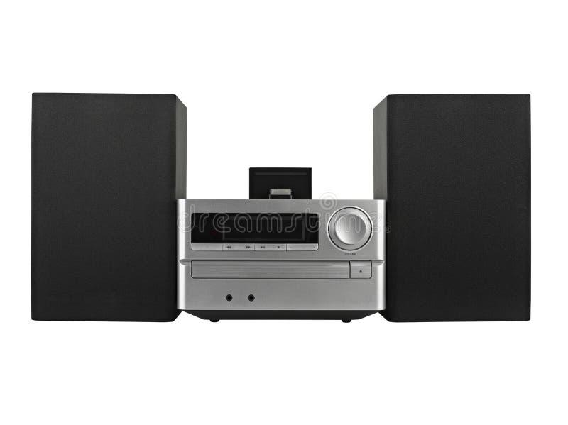 数字式usb,条频器, CD播放器 免版税库存照片