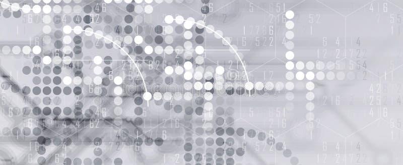 数字技术世界 企业真正概念 传染媒介backg 向量例证