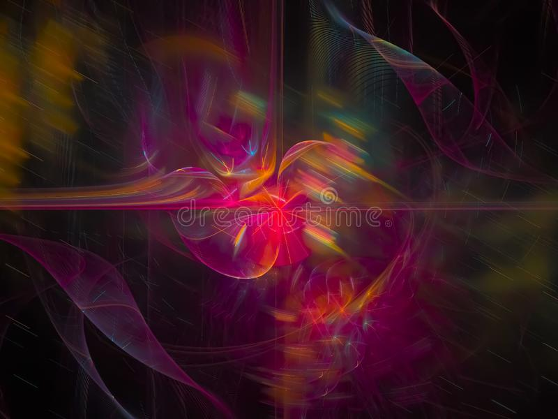 数字抽象样式分数维,现代纹理图表美好的设计,幻想,欢乐 向量例证
