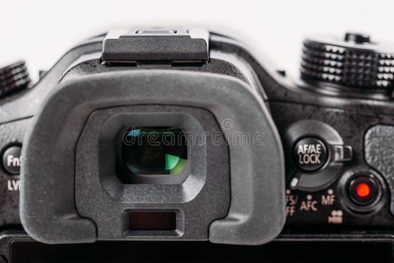 数字照相机反光镜 免版税库存照片