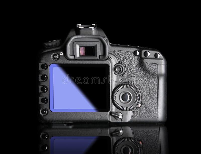 数字照相机,后面看法 库存照片