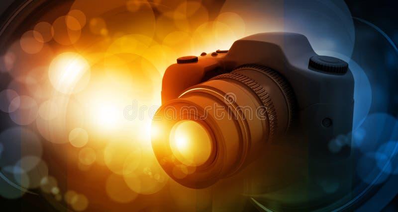 数字照相机 向量例证