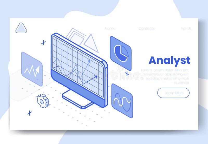 数字等量设计观念套互联网分析家应用程序3d象 等量经营分析财政逻辑分析方法 皇族释放例证
