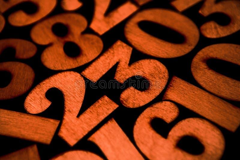数字背景 从零到九 背景例证计算向量 数字纹理 图库摄影