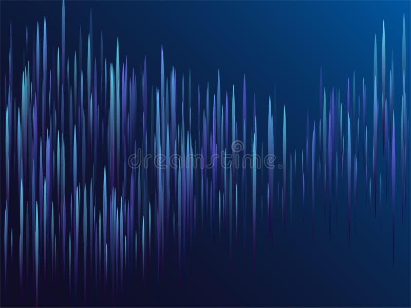 数字蓝线小河视觉视觉技术 免版税图库摄影