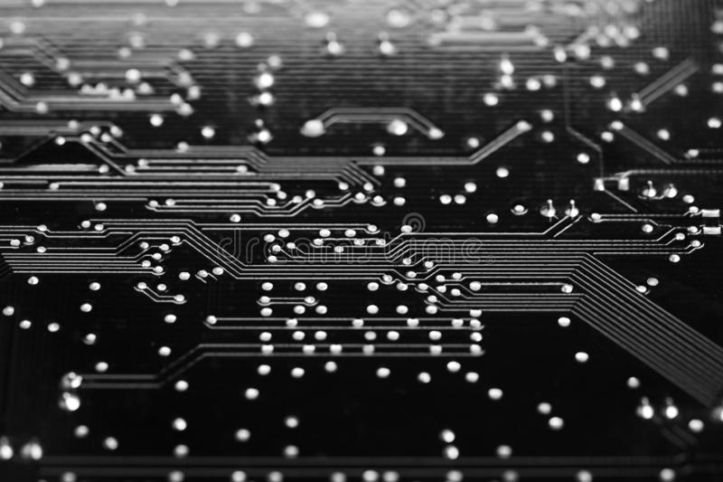 数字AI、人工智能或者机器学习backgrou 免版税图库摄影