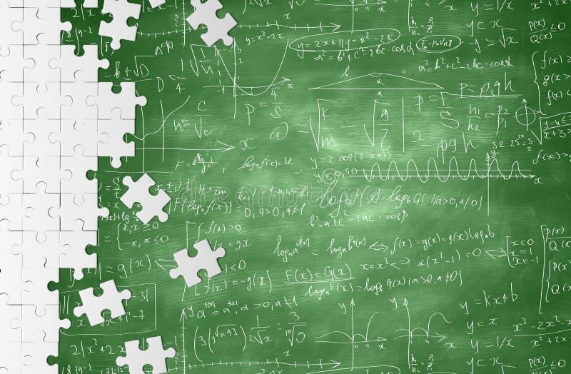 数学公式 库存例证