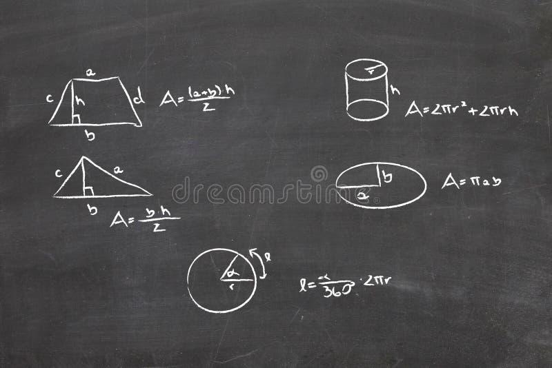 数学题 免版税图库摄影