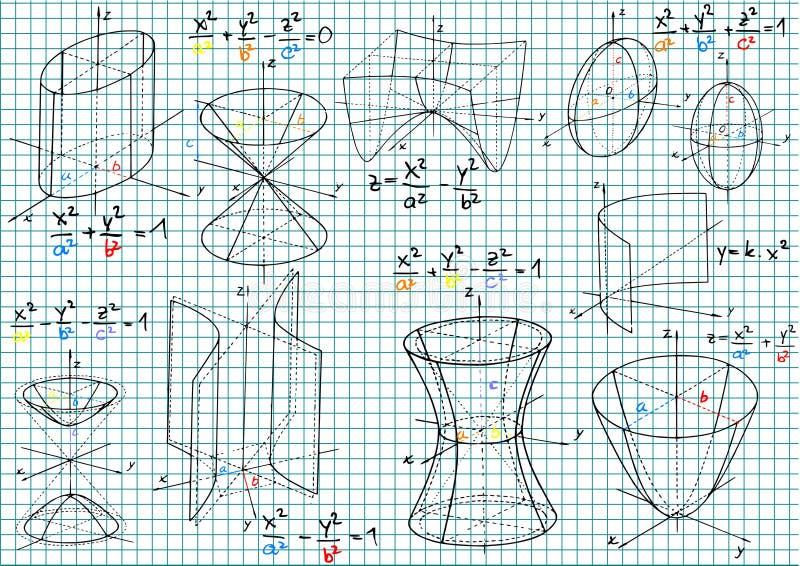 数学 向量例证