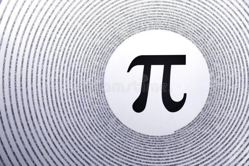 数学pi 免版税库存照片