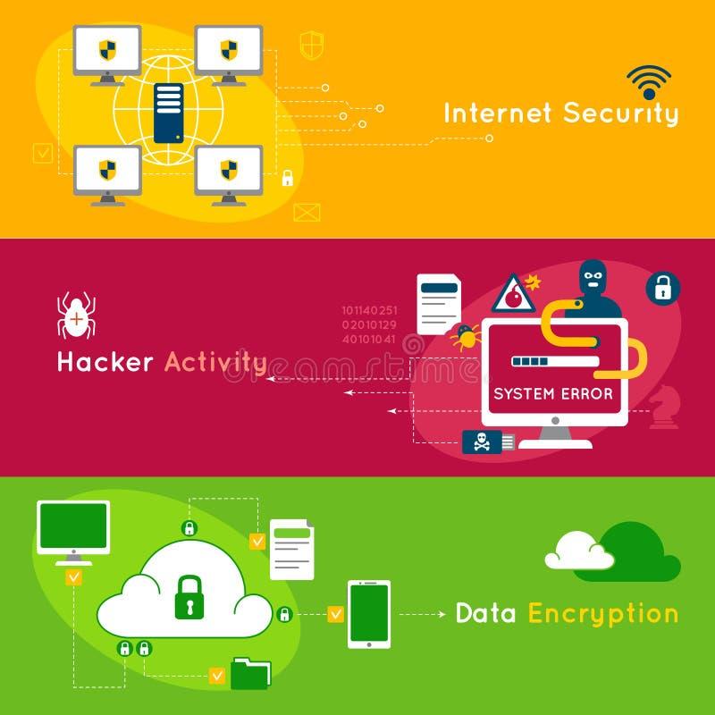 Download 数据保护平的横幅集合 向量例证. 插画 包括有 忠告, 数字式, 收集, 网络, 替换, 格式, 例证, 数据 - 72362937