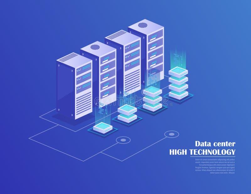 数据处理 库存例证