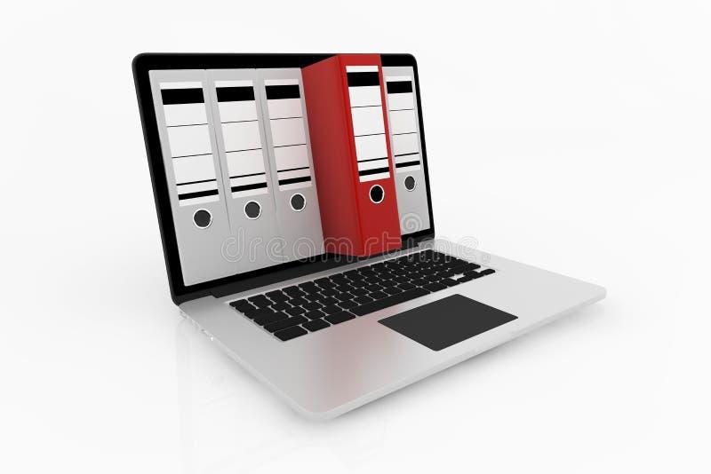 数据库存贮概念 向量例证
