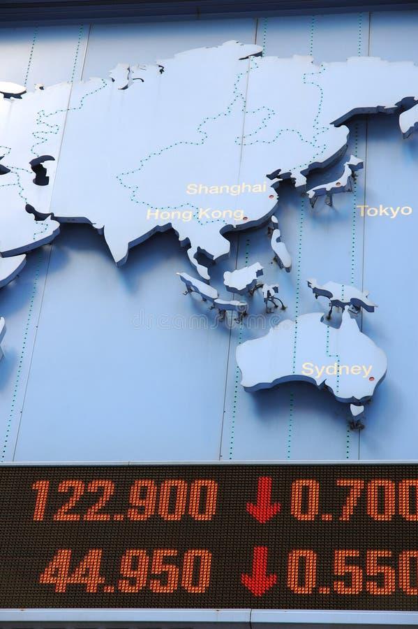 数据映射股票 免版税库存图片