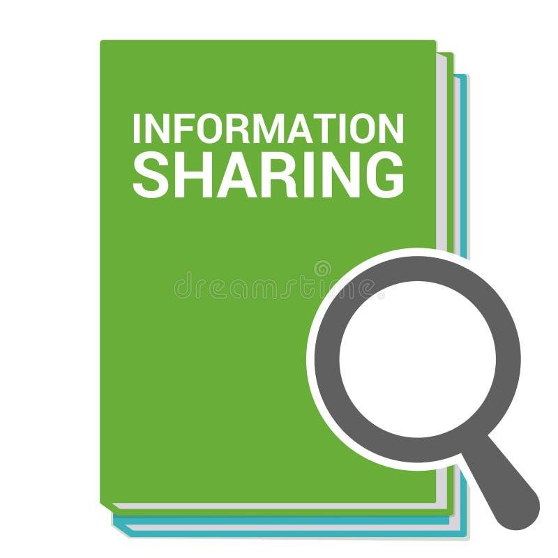 数据概念:与词信息公用的扩大化的光学玻璃 库存例证