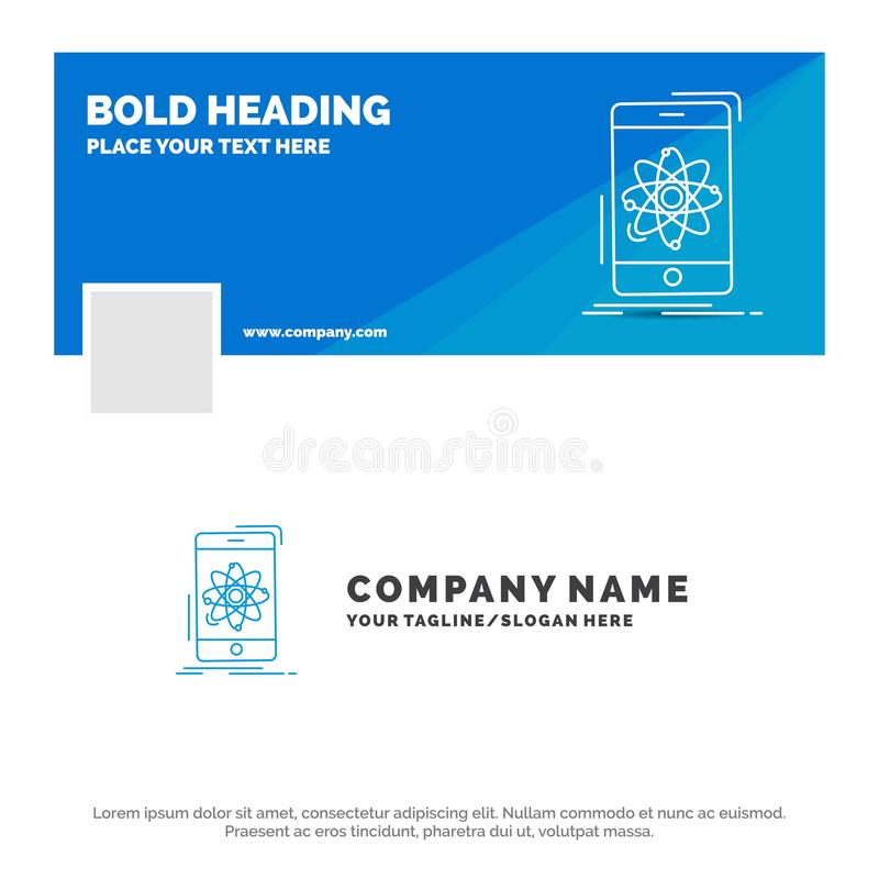 数据的,信息,机动性,研究,科学蓝色企业商标模板 r r 皇族释放例证