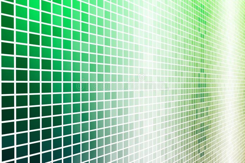 数据能源未来派格状网 皇族释放例证