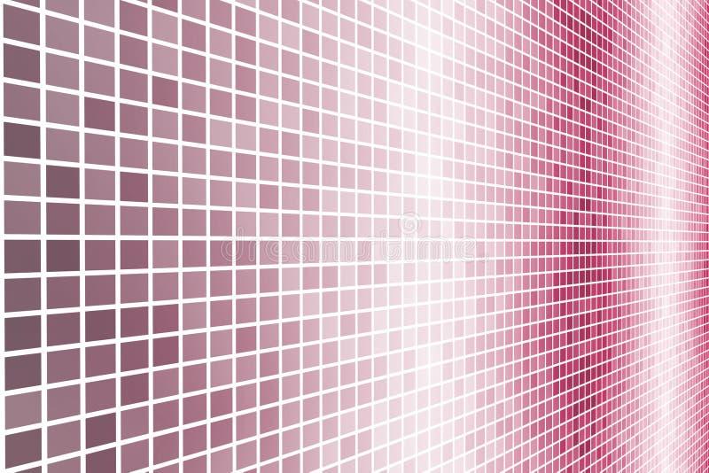 数据能源未来派格状网 向量例证
