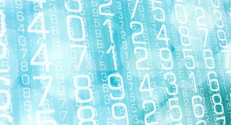 数据逻辑分析方法数字计算机报告  库存例证