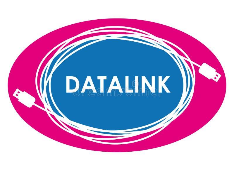 数据链路徽标 向量例证