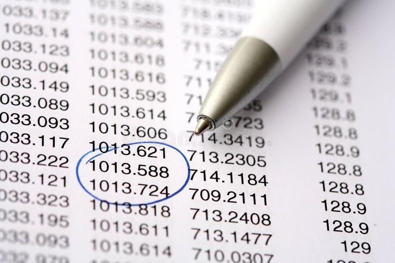 数据 免版税库存照片