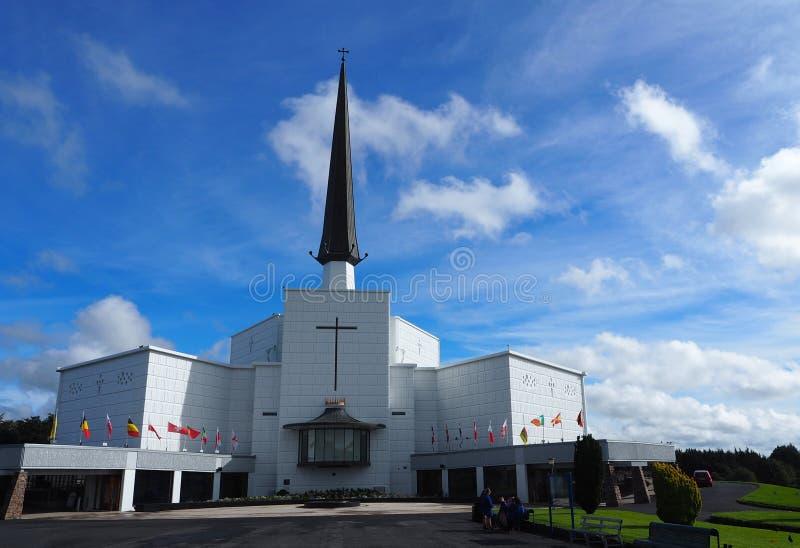 敲大教堂爱尔兰 库存照片