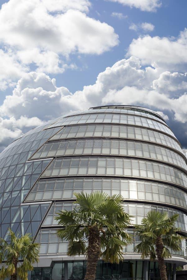 整个大伦敦理事会大厦 免版税库存图片