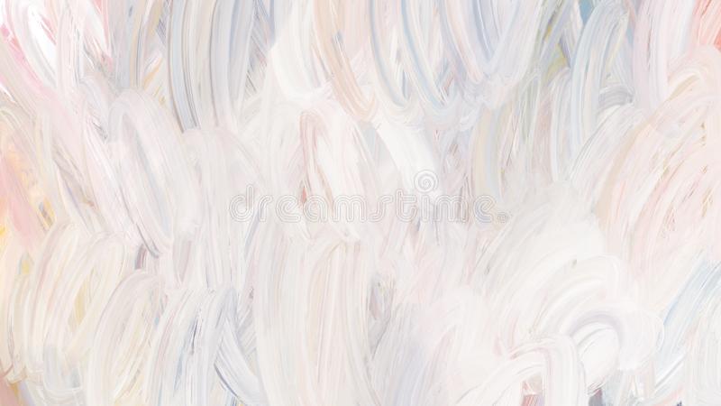 整个银幕的织地不很细抽象刷子冲程涂抹背景 免版税库存照片