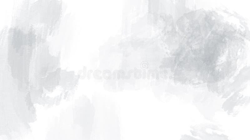 整个银幕的织地不很细抽象刷子冲程涂抹背景 向量例证
