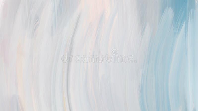 整个银幕的织地不很细抽象刷子冲程涂抹背景 库存例证