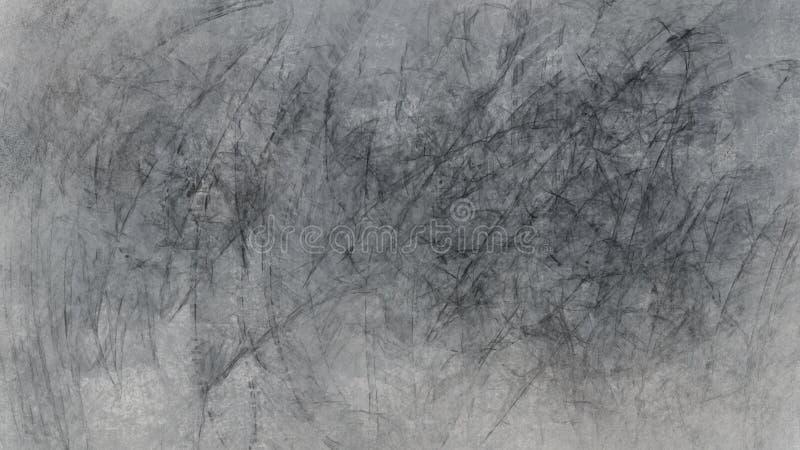 整个银幕的难看的东西抽象派涂抹背景 图库摄影