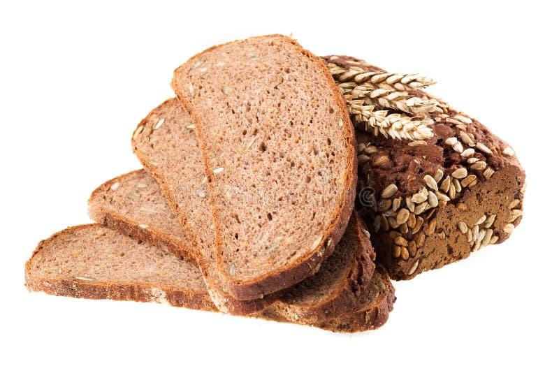 整粒的面包 免版税库存照片