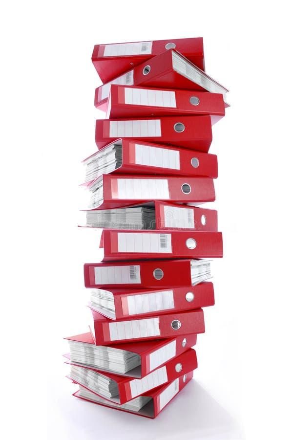 文件夹办公室 免版税图库摄影