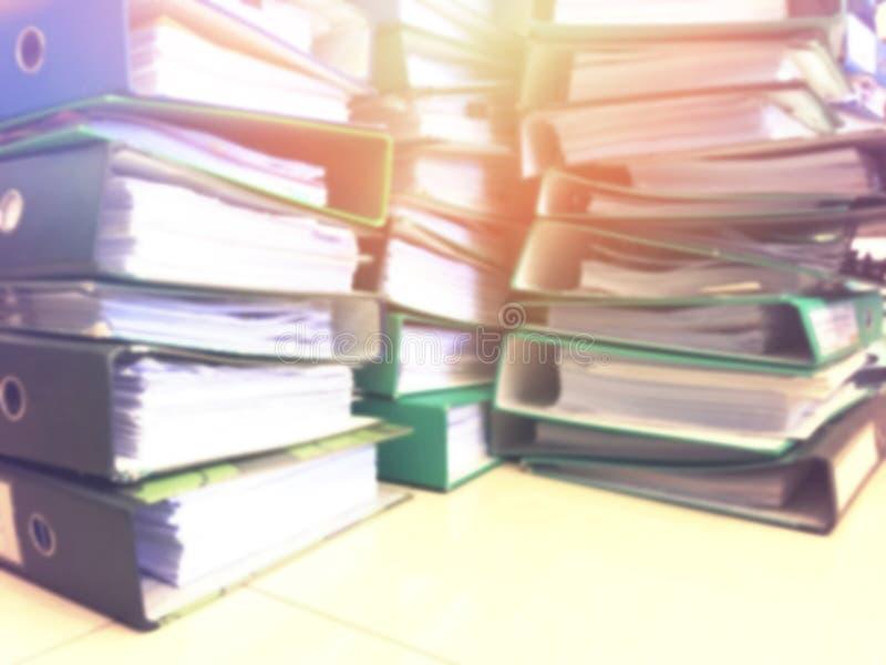 文件夹堆 库存图片