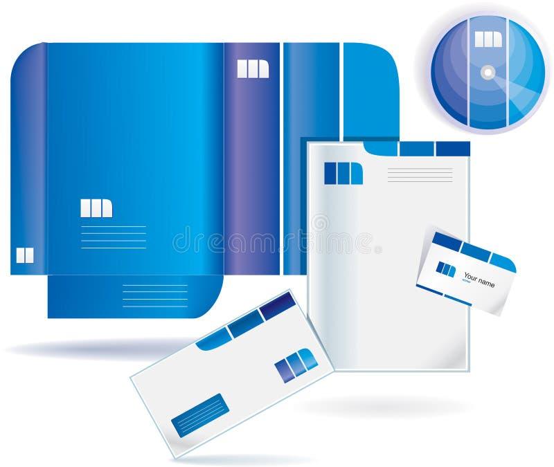 文件夹样式向量 库存图片