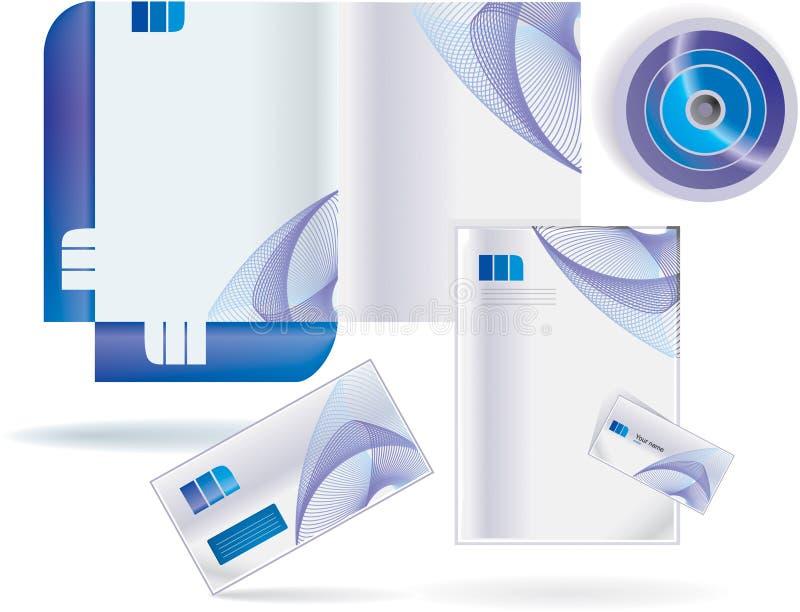 文件夹样式向量 免版税库存图片